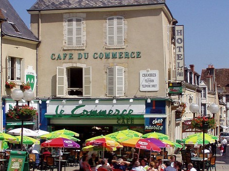 Cafe du commerce la chatre